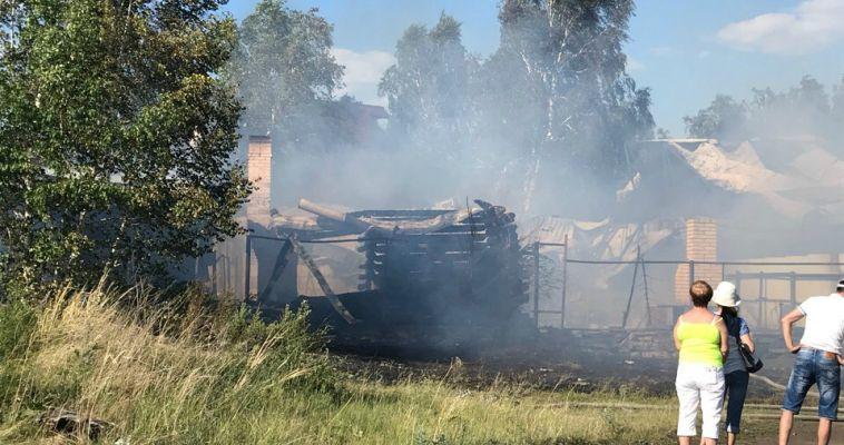 В МЧС рассказали подробности пожара на Банном