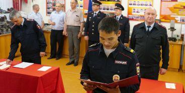 Молодые полицейские приняли присягу в Магнитогорске
