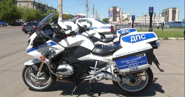 На магнитогорских дорогах появились мотоциклисты в погонах