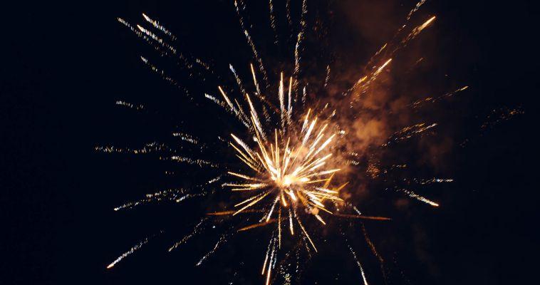 Видео. День металлурга украсил праздничный салют