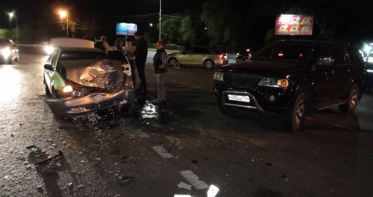 На проспекте Ленина произошла авария