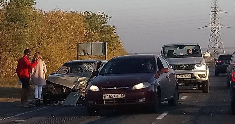 В аварии в Абзелиловском районе пострадали трое
