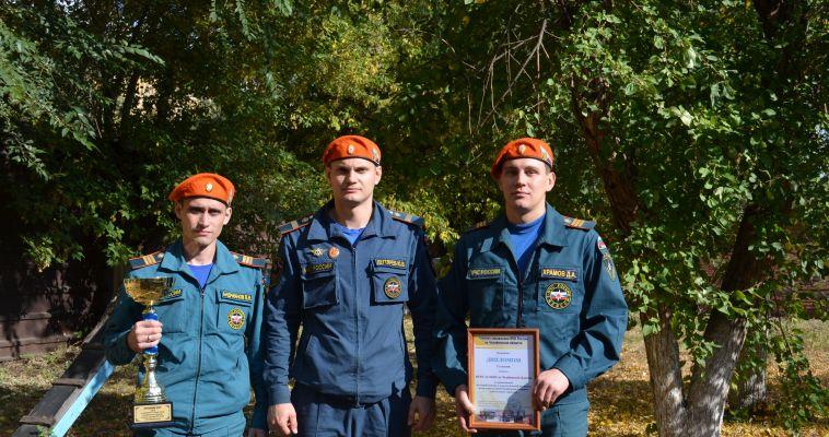 Магнитогорские спасатели стали лучшими на Южном Урале