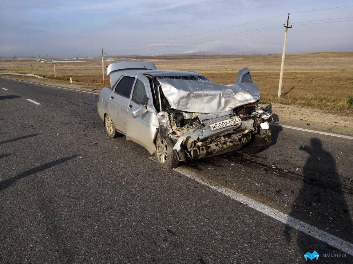На трассе произошла авария
