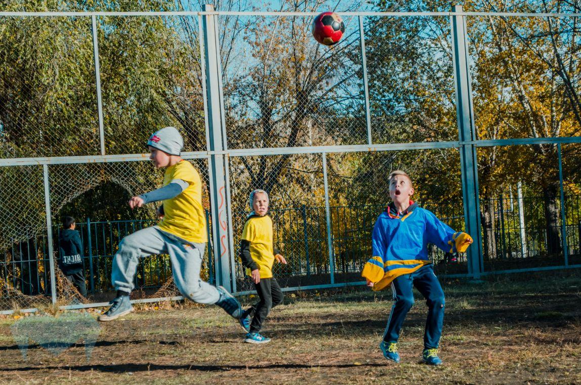 Футбольная осень для юных спортсменов