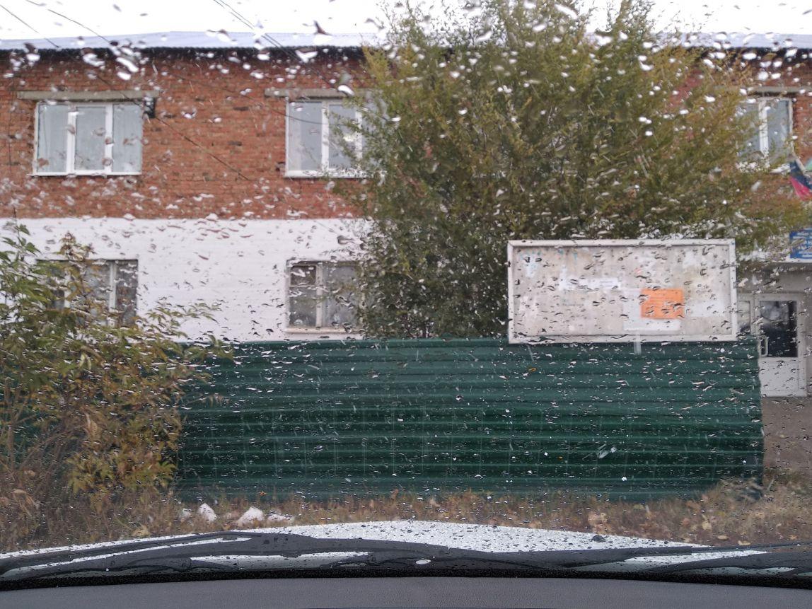 В Магнитогорске пошёл первый снег