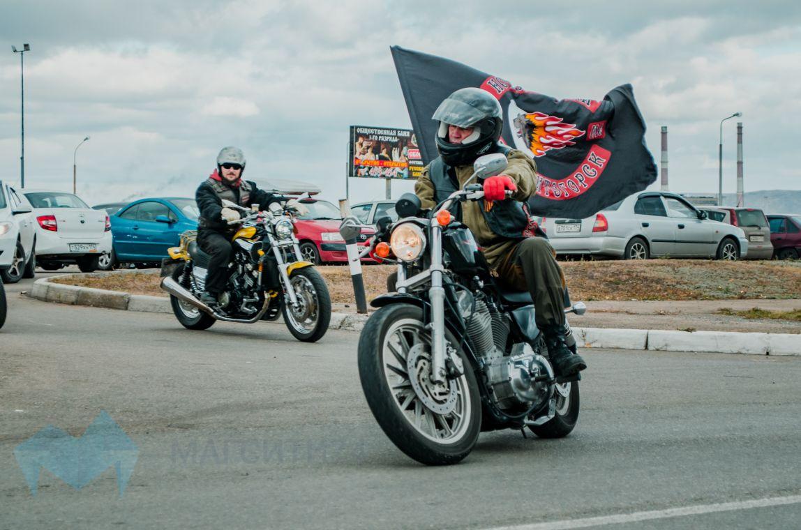 Магнитогорские байкеры попрощались с дорогами