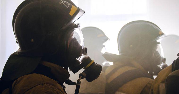 В Магнитогорске сгорели три бани