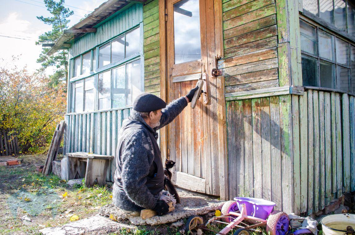 Житель села Красная Башкирия остался без средств к существованию