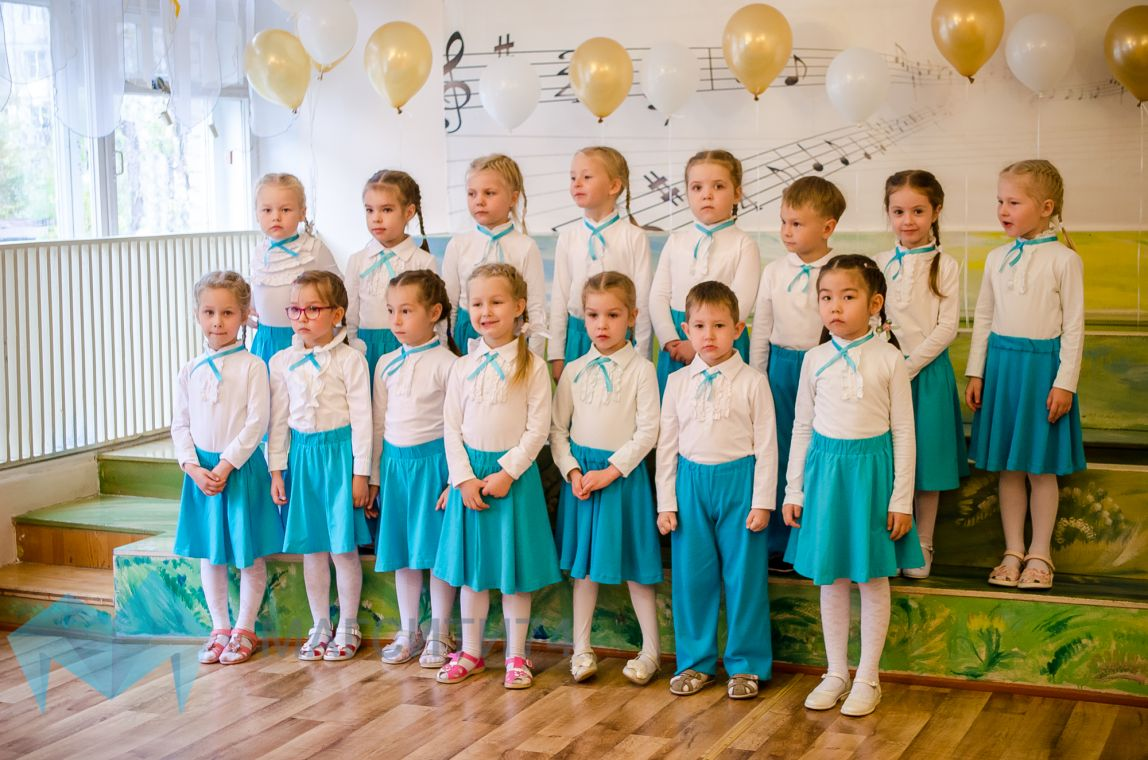 Малыши вступили в битву хоров