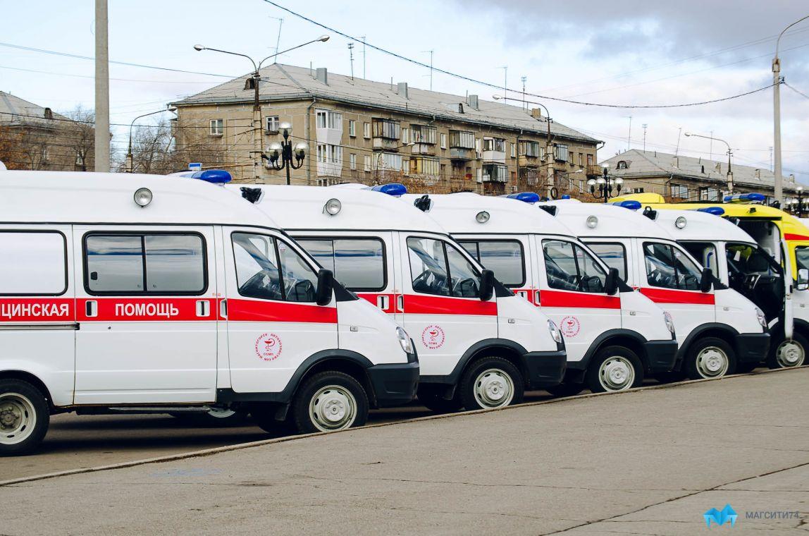 В Челябинскую область приедут новые машины скорой помощи