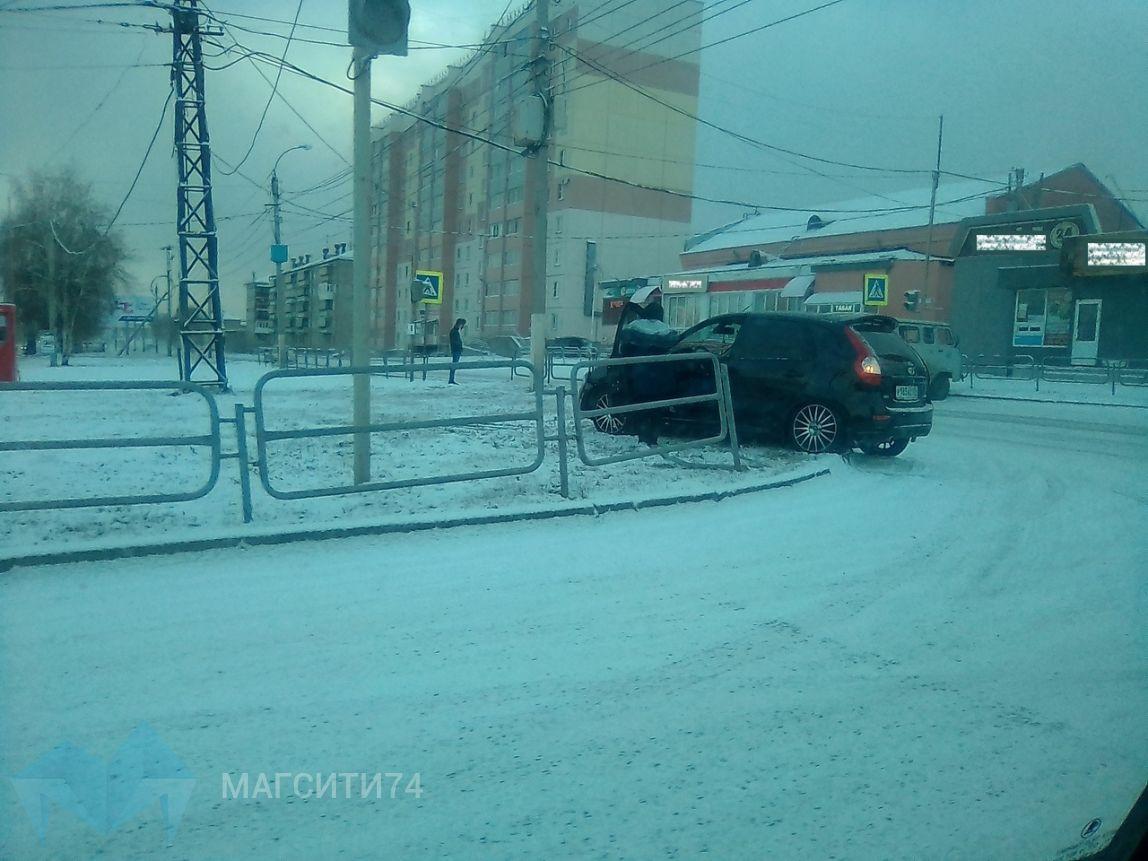 Магнитогорские водители оказались не подготовлены к зиме