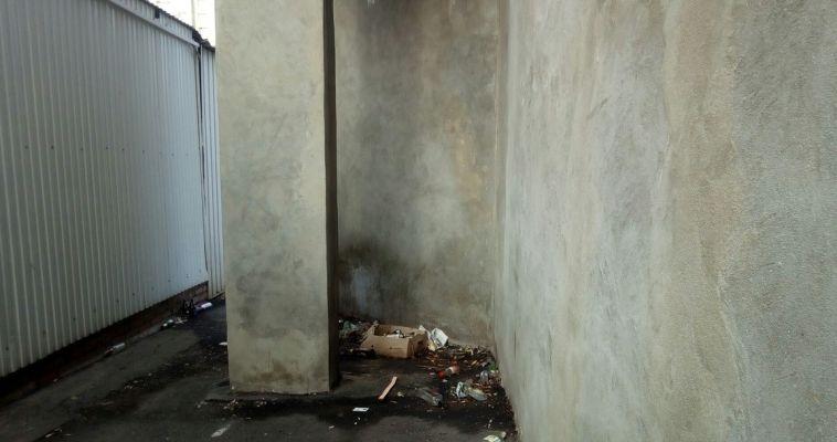 Магнитогорцы живут в метре от «общественного туалета»
