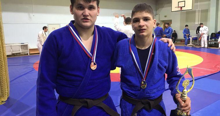 Магнитогорские дзюдоисты привезли медали с первенства России