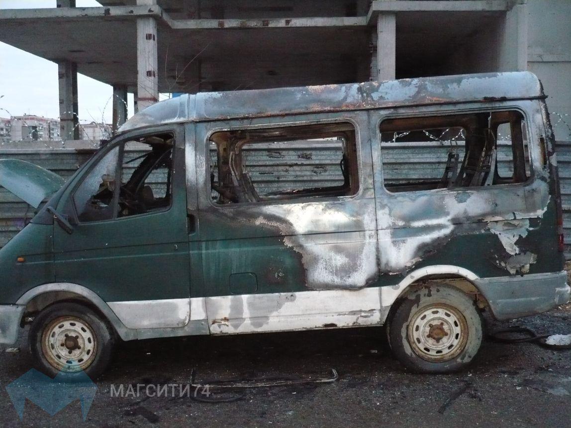 В Магнитогорске сгорели баня и «ГАЗель»