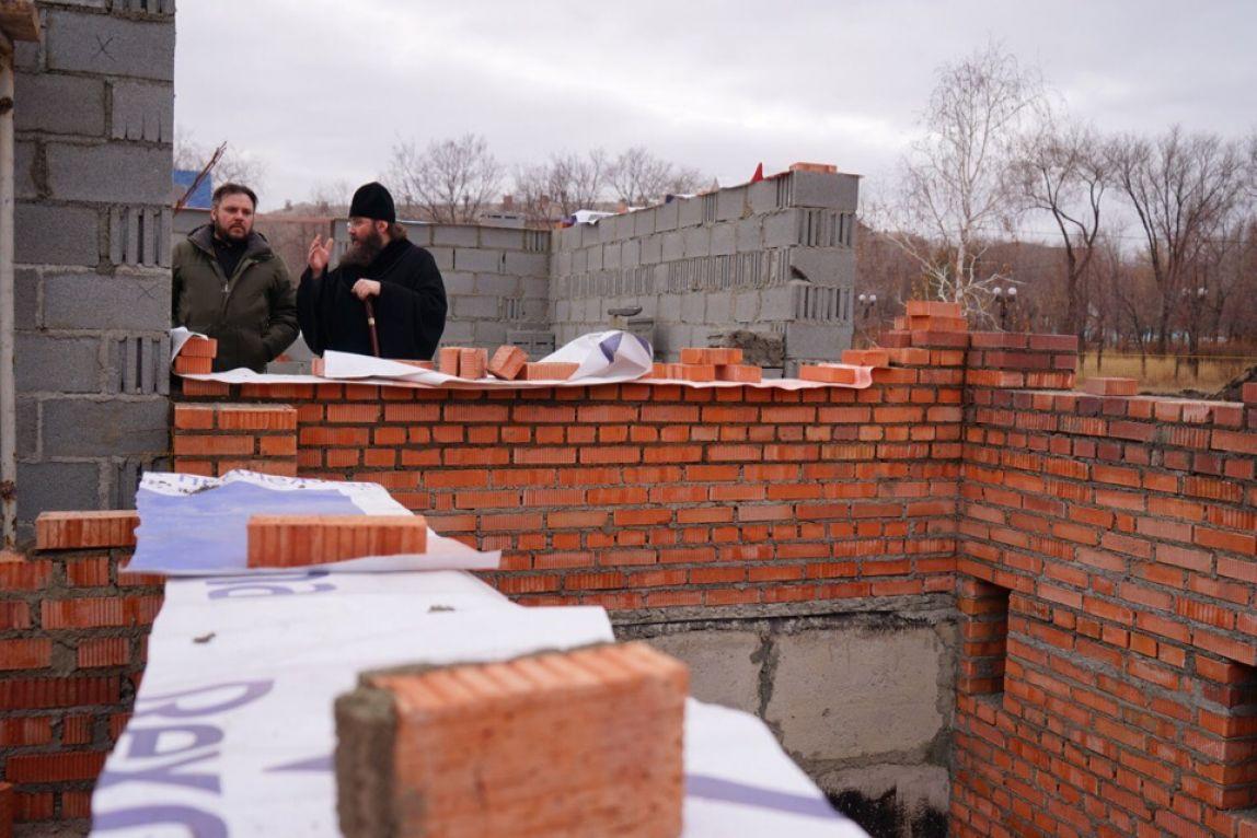 В Магнитогорске строят православный молодёжный центр