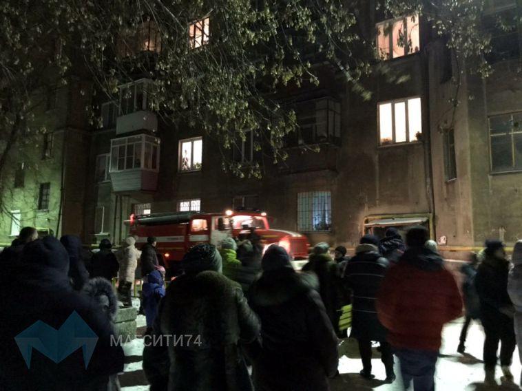 На левом берегу сгорел лифт