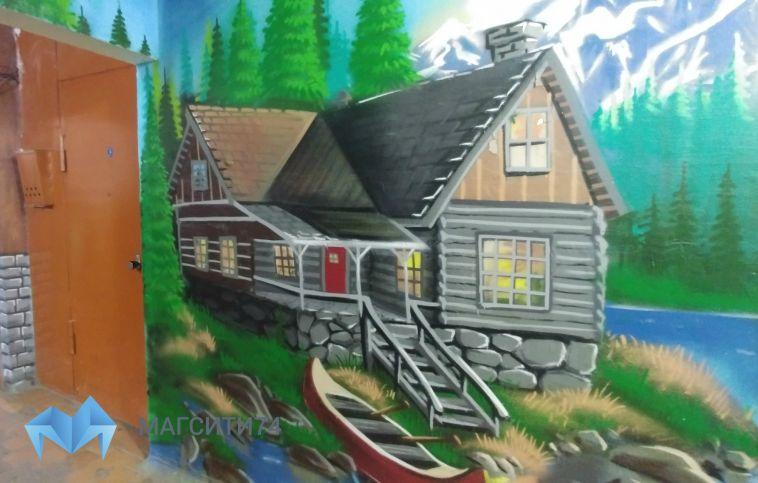 Магнитогорцы хотели отремонтировать подъезд, но нарисовали картину