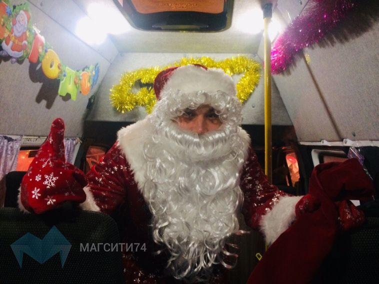 Это не шутки — Дед Мороз в маршрутке