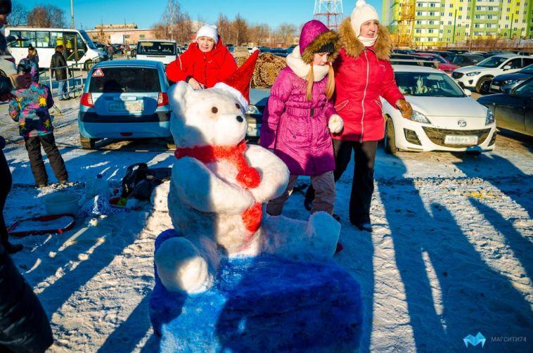 Магнитогорцев приглашают к участию в конкурсе снежных фигур
