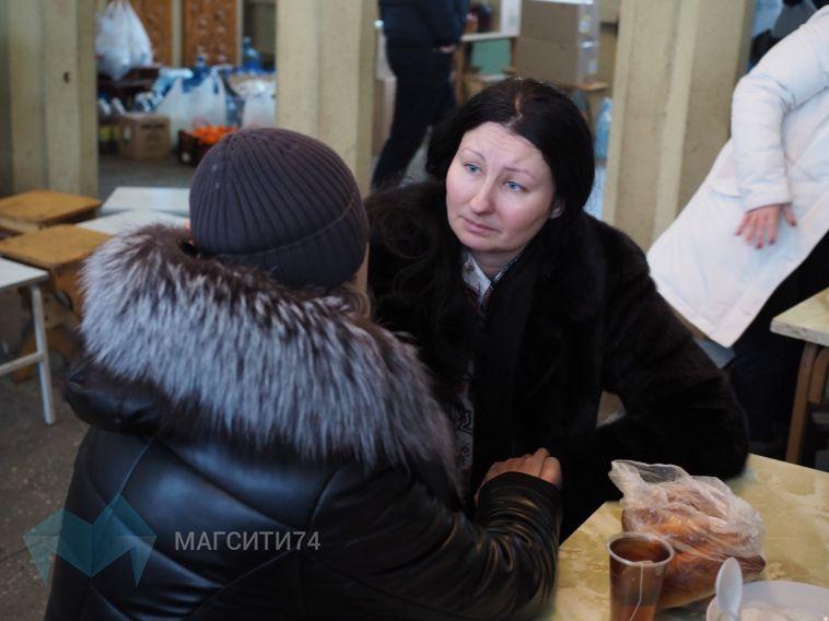 Сейчас сюда стянуты силы со всей области, помощь пришла из Москвы