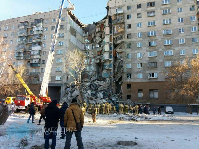 За ночь в Магнитогорске из-под завалов вытащили еще двоих
