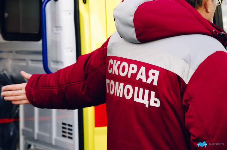 Мужчину в тяжелом состоянии доставили из Магнитогорска в Челябинск