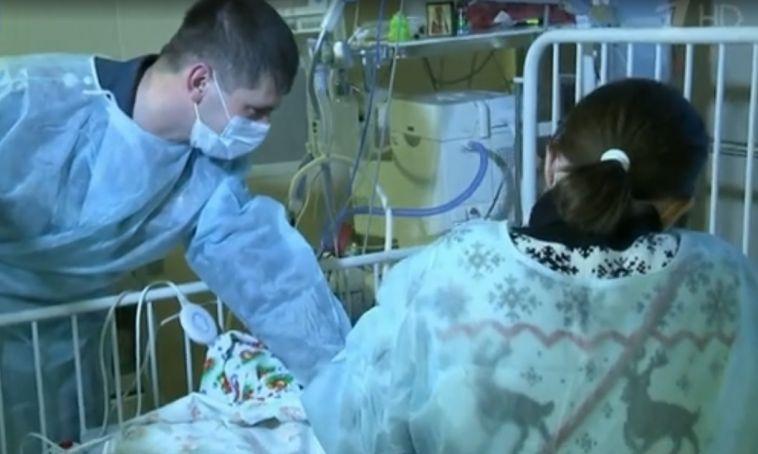 Спасатели навестили Ваню Фокина в больнице