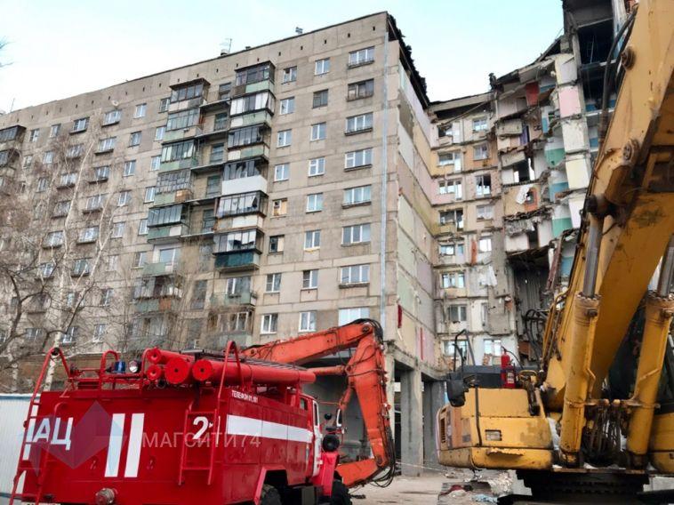 Завтра в Магнитогорске приступят к демонтажу подъездов в доме по Карла Маркса