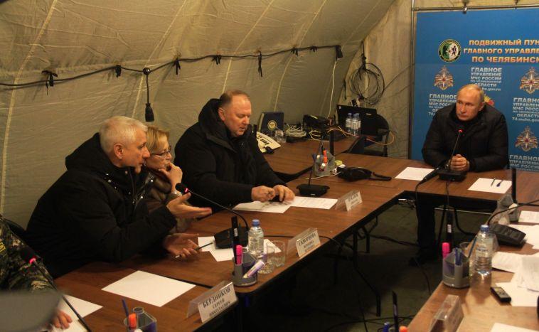 Владимир Путин обсудит с правительством причины ЧП в Магнитогорске и Шахтах
