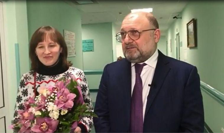 Министр Чечни навестил маму Вани Фокина