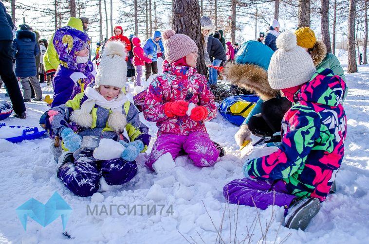 Магнитогорцы отпраздновали Всемирный день снега