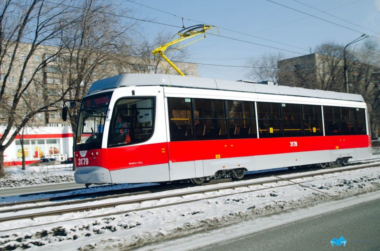 В Магнитогорске отменили рейсы 19 трамвайных маршрутов