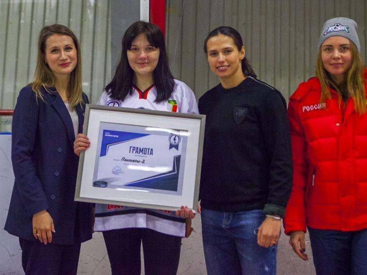 Хоккеистка из Магнитогорска сыграет в Москве