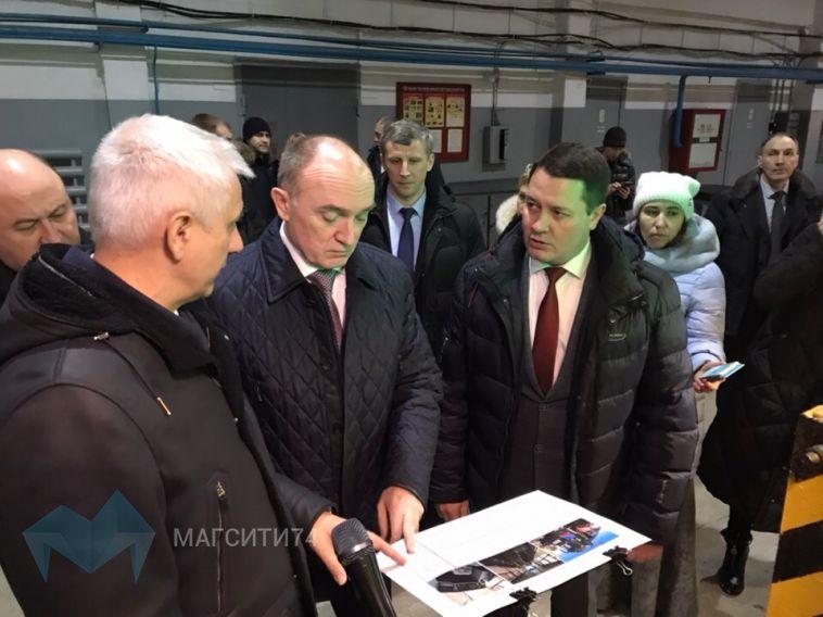В Магнитогорск приехал губернатор Челябинской области