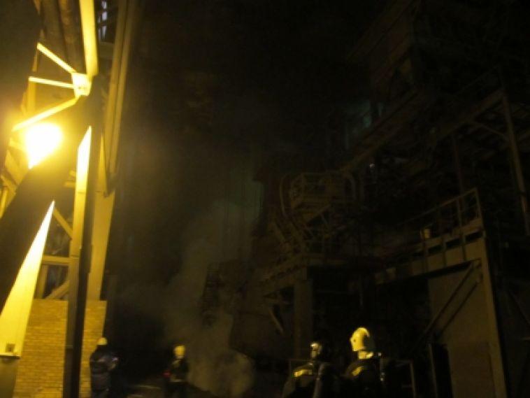 В пожаре на челябинском комбинате погибли два человека