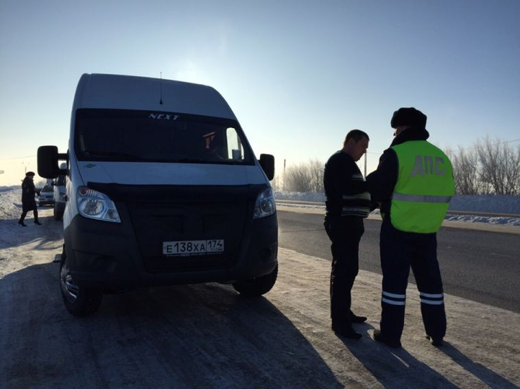 В Магнитогорске прошла операция «Автобус»