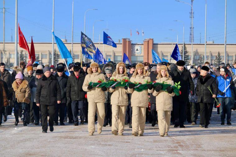 В День защитника Отечества магнитогорцы почтили память павших