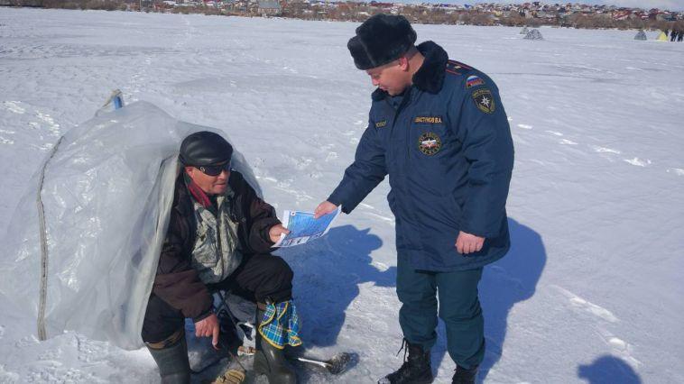 В городе завершилась операция «Безопасный лед»