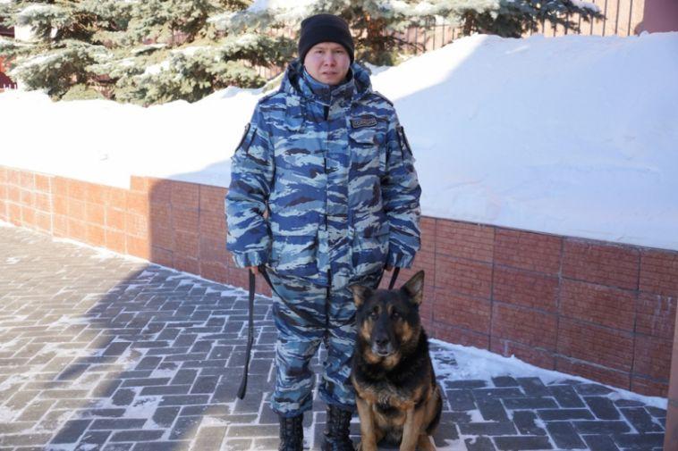 В Магнитогорске служебная собака помогла раскрыть преступление