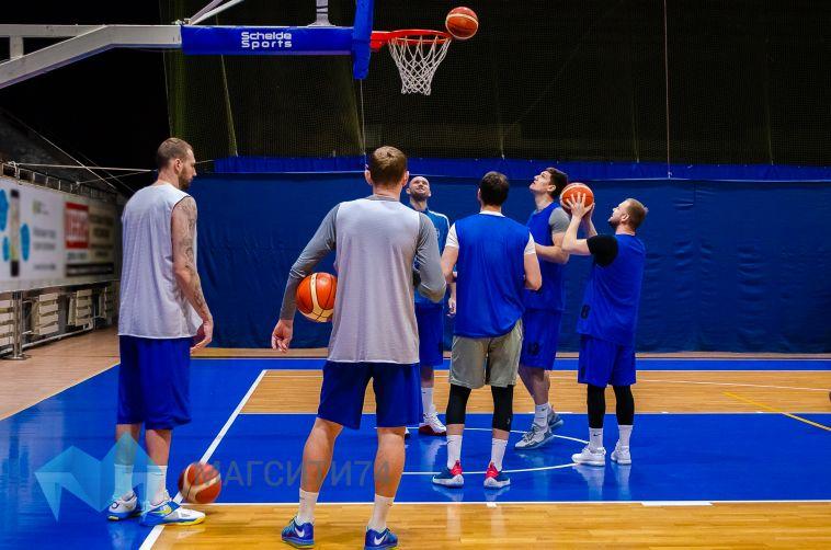Баскетболисты «Динамо» провели открытую тренировку
