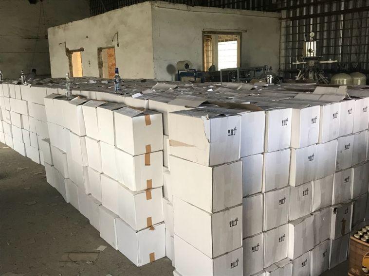В Магнитогорске изъяли 40 тысяч литров алкоголя