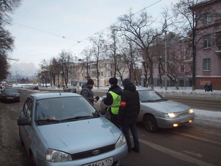 В Магнитогорске нетрезвая автоледи везла ребенка в детский сад