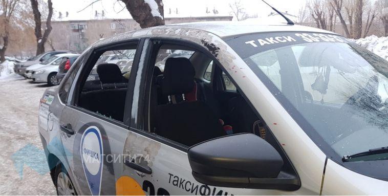 В Магнитогорске трое мужчин напали на таксиста