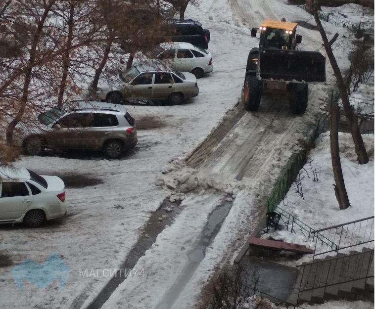 Житель магнитогорского посёлка сам расчистил дороги