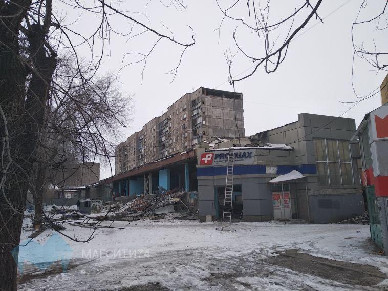 В Магнитогорске начался демонтаж «Зорей Урала»