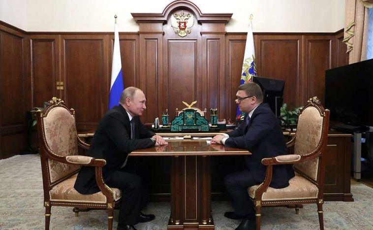 Алексей Текслер сделал первые заявления на встрече с Путиным