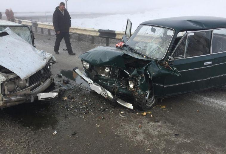 Магнитогорец по дороге в Верхнеуральск попал в ДТП