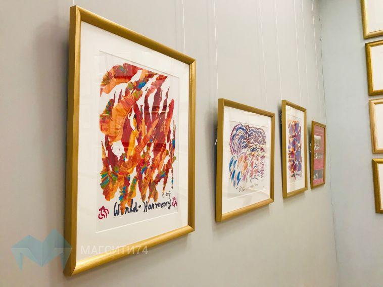 В город металлургов привезли выставку художника из Бангладеш
