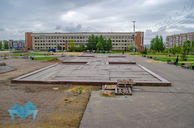 В центре города появится фонтан с «раскаленным металлом»
